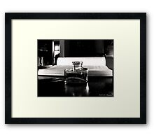 No More Ink Framed Print