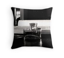 No More Ink Throw Pillow