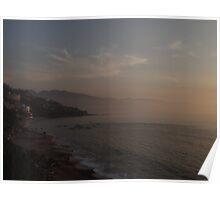 Hazy Bay - Bahia Brumosa Poster