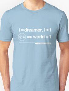 John Lennon - The Helvetica Music Project Unisex T-Shirt
