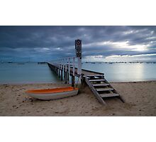The Baths Jetty Sorrento Front Beach Photographic Print