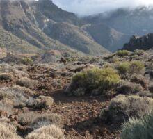 Desert Teide Sticker
