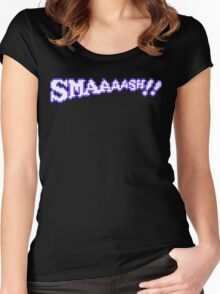 SMAAAASH!! Women's Fitted Scoop T-Shirt