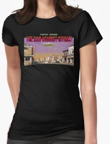 The War Against Giygas Womens Fitted T-Shirt