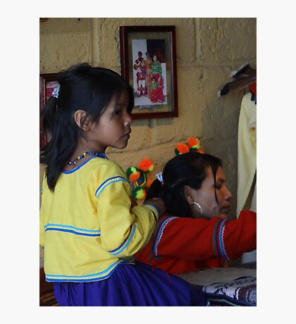 Mother And Child - Madre Y Niña Photographic Print
