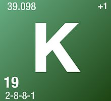 Element Potassium by Defstar