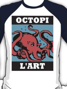 Octopi Red T-Shirt