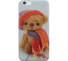 Handmade bears from Teddy Bear Orphans - Biff iPhone Case/Skin