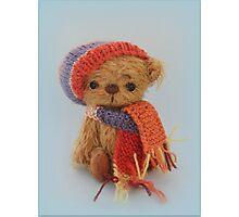 Handmade bears from Teddy Bear Orphans - Biff Photographic Print