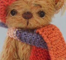 Handmade bears from Teddy Bear Orphans - Biff Sticker