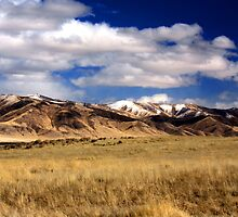 Sanoma range from west on east range , winnemucca nv. by DonActon