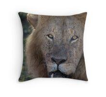 Portrait of Fang Throw Pillow