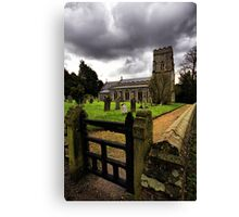 St Margaret, Starston, Norfolk, England. Canvas Print