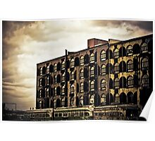 Time Tells Its Own Tales - Red Hook - Brooklyn Poster