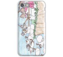 300 Snowmen  iPhone Case/Skin