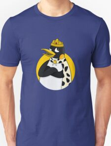 Cute emperor penguin cartoon Unisex T-Shirt