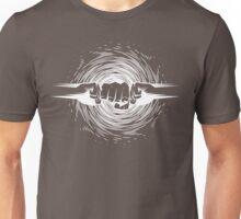 atomic fist bump white Unisex T-Shirt