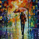 TOWARD LOVE - LEONID AFREMOV by Leonid  Afremov