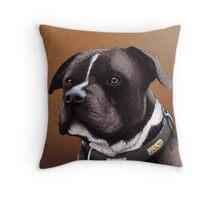 Staffordshire bull terrier 2 Throw Pillow