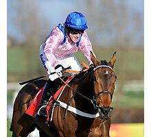 A P McCoy on Captain Conan Photographic Print