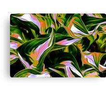 Fractalius Hosta Canvas Print