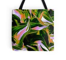 Fractalius Hosta Tote Bag