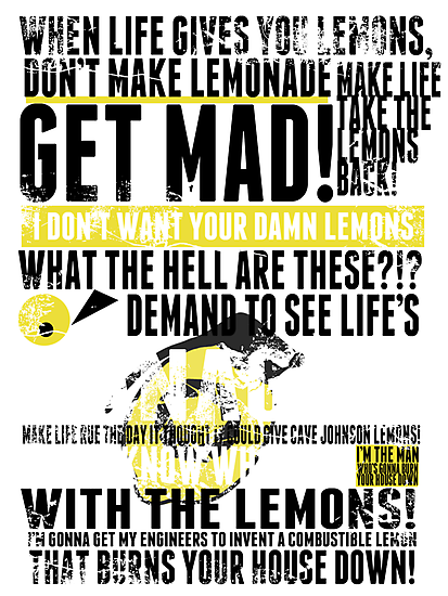 Piece a Week #16: Lemons by Chris Carruthers