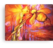 Bumble Bee Homing, All Else Kaleidoscope Canvas Print