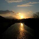 River Tweed Sunrise (Peebles) 2 by photobymdavey