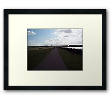 Path to sky  Framed Print