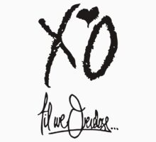 XO Til We Overdose - Alternate (Black) by Faded Fabrics
