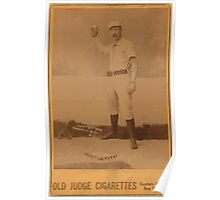 Benjamin K Edwards Collection Doc Bushong Brooklyn Trolley Dodgers Brooklyn Bridegrooms baseball card portrait Poster