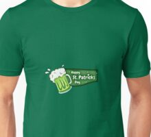 Green Irish Beer Happy St. Patrick's Day Unisex T-Shirt