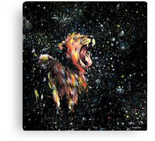 the lion sleeps no more Canvas Print
