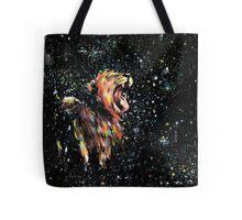 the lion sleeps no more Tote Bag