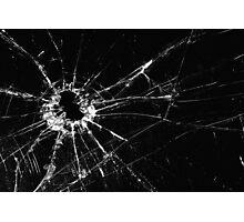 Broken Glass print Photographic Print