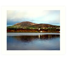 Over The Causeway Art Print