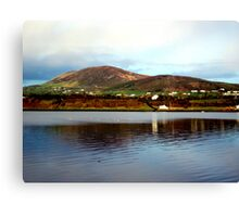 Over The Causeway Canvas Print