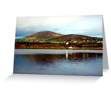 Over The Causeway Greeting Card