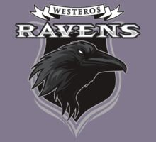 Westeros Ravens- Game of Thrones Shirt Kids Clothes