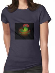 T-shirt talkin' to me Womens Fitted T-Shirt