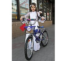 First Holy Communion in Poland .Gifts of a religious nature , cash and bicycles are usually given. by Doktor Faustus . Views (100) Thx! Photographic Print