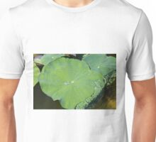 Lotus in the water with self-cleaning Unisex T-Shirt