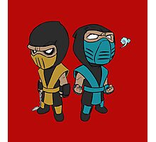 Scorpion & Sub-Zero Photographic Print