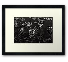 Cornish Harbour Framed Print