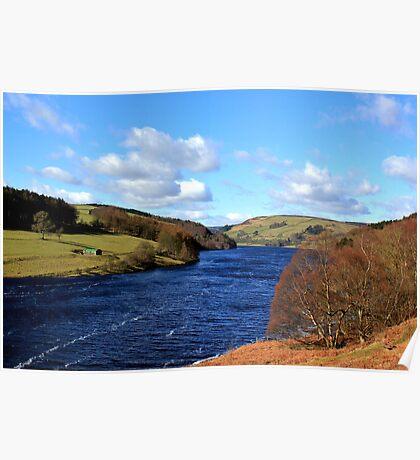 Ladybower Reservoir Derbyshire Poster