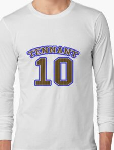 Tennant Team Shirt Long Sleeve T-Shirt