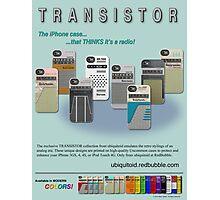 TRANSISTOR Magazine Ad Photographic Print