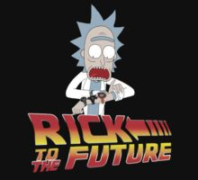 Back to the Future Rick and Morty One Piece - Short Sleeve