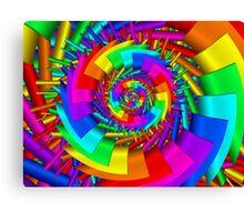 Paint Me a Rainbow Canvas Print